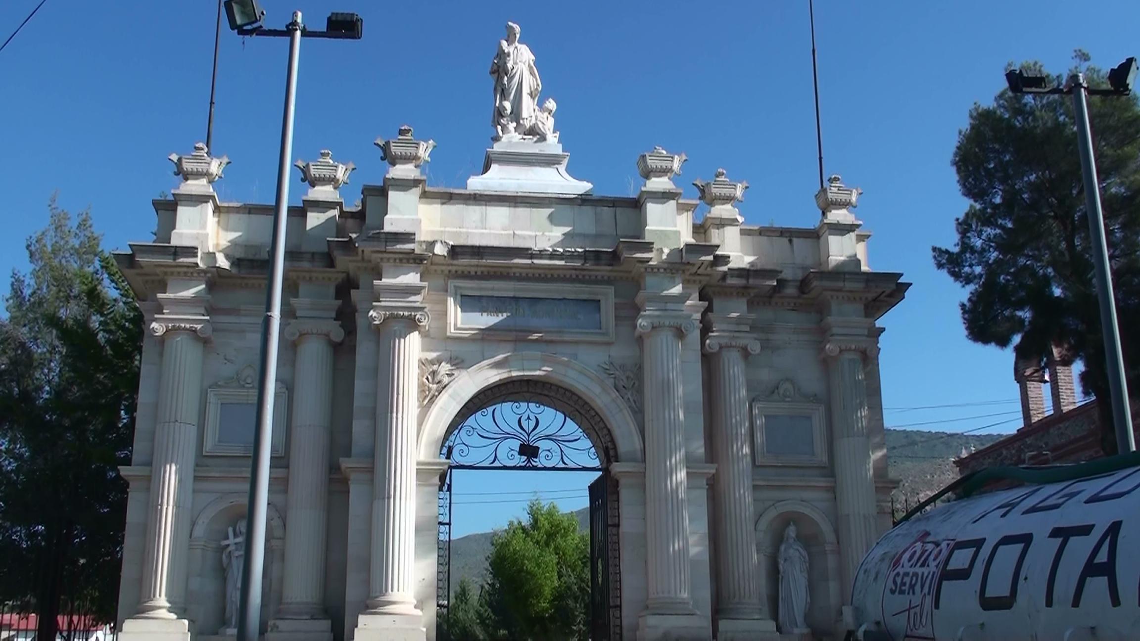 San Bartolo, panteón municipal de Pachuca, Hdgo. México
