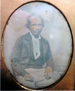 Daguerrotipo 1845-1850 probablemente en Toluca, México