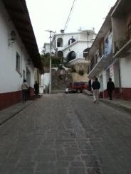 Calle adoquinada, Zacualpan Edo. De México
