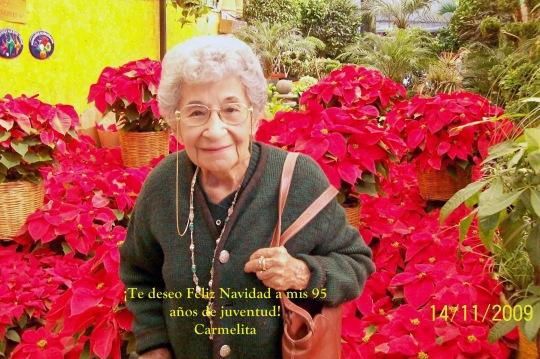 Carmen Castañeda Olea Navidad 2009