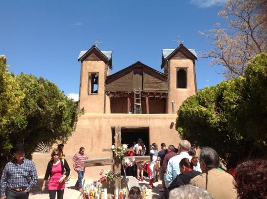 Entrada Santuario Chimayó 31 marzo 2013