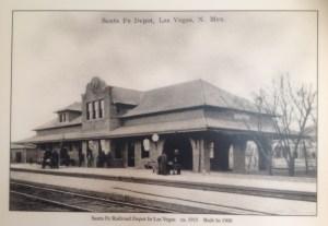 Estación ferrocarril, Las Veg