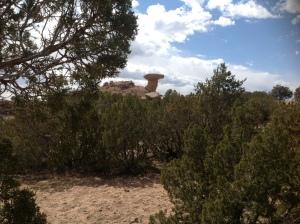 Foto 1 Piedra Cabeza de Camello, NM, 31 marzo 2013