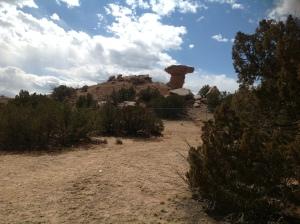 Foto 2 Piedra  Cabeza de Camello, NM, 31 marzo 2013