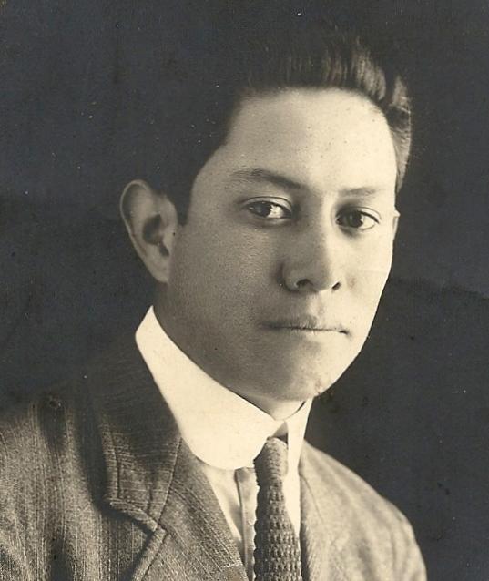 Licenciado Amador Castañeda Jaimes (1871-1934), Ex-Gobernador Interino de Hidalgo, México  1912 (4/6)