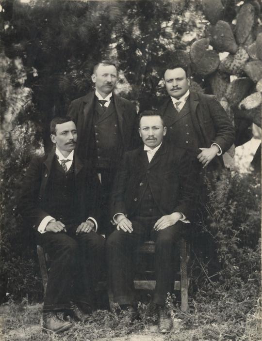 Cuatro hermanos Castañeda Jaimes
