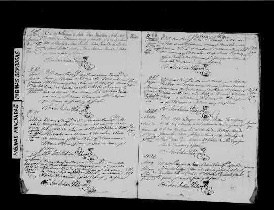 1837 26 oct reg. ec. def.  Alejandro Marcos de Castañeda de Gama