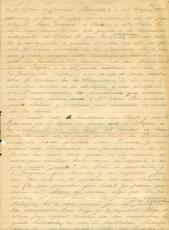 Una Página manuscrito de Juan Castañeda. Cortesia Claudia Infante Castañeda
