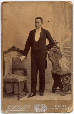 Licenciado Amador Castañeda Jaimes 1902.  Foto cortesía Elena Laura Castañeda Islas