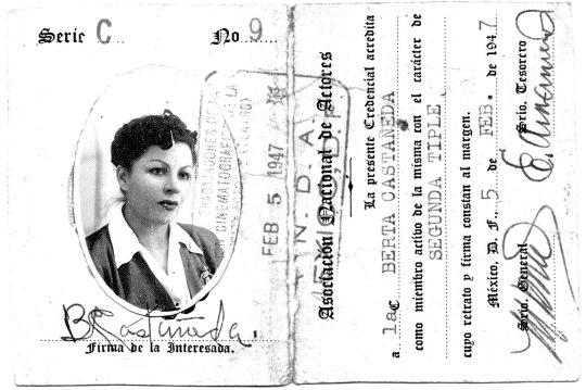 1947. Segunda tiple