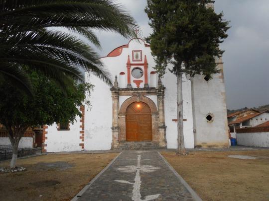 Iglesia parroquial de Tezicapán